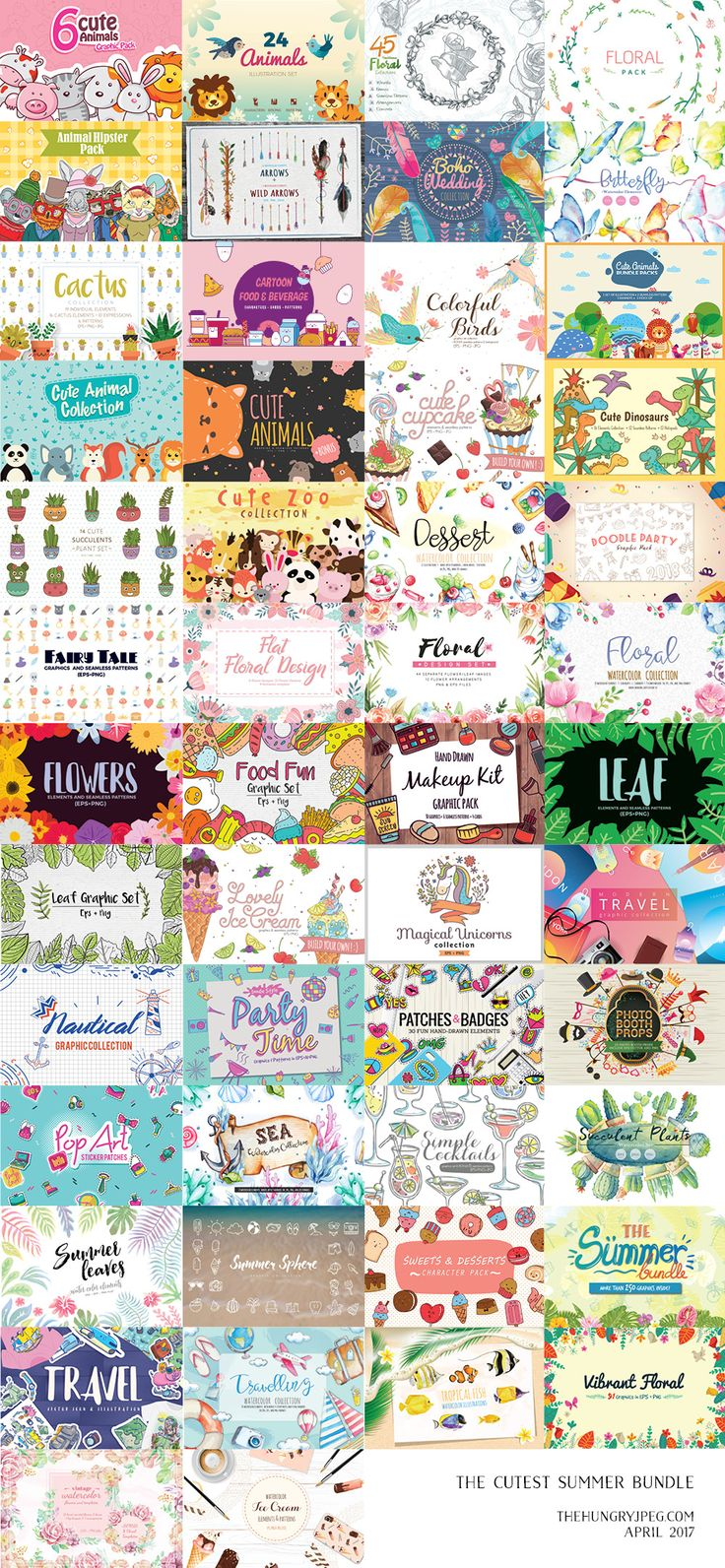Huge bundle of assets for $15.20 when you use the coupon code HONEY20 at checkout! Plus another 10% off if you share a tweet!