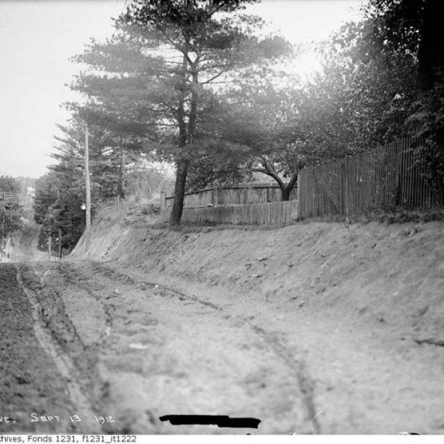 Lee Avenue, The Beach, Toronto - 1912