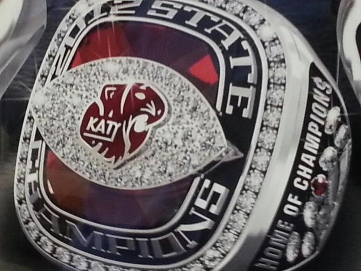 2012 katy high school state championship ring