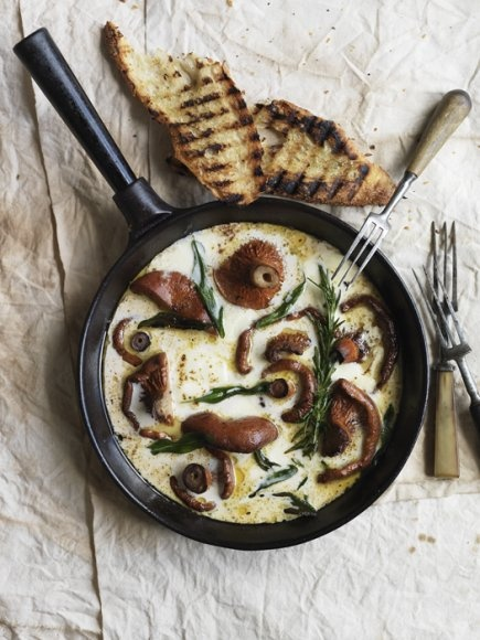 Omelette aux Champignons pour une saison qui tarde!