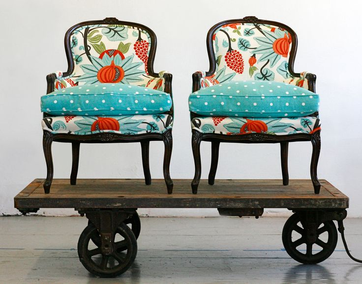 Wonderful Berger chairs. Sold as a pair for 6,000$.