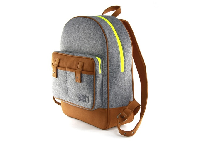 Martin felt Backpack by Mad Rabbit Kicking Tiger. Shop Local @ First Access Boutique in Austin, Texas