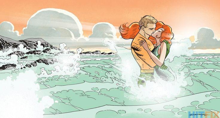 Aquaman variant by Darwyn Cooke