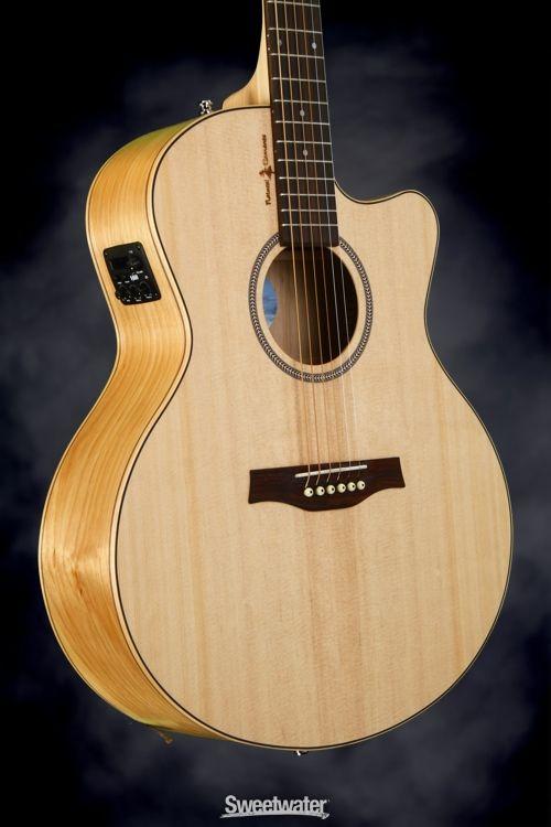 Seagull Guitars Natural Elements CW Mini-Jumbo SG - Natural, Heart of Wild Cherry