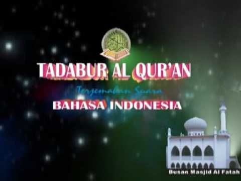 Taddabur Al Qur'an - Surah AL IMRON - Terjemahan Bahasa Indonesia 2 of 20