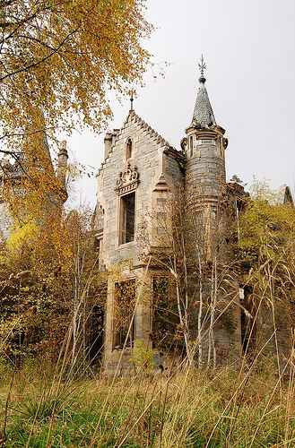 Decaying Mansion, Perthshire, Scotland