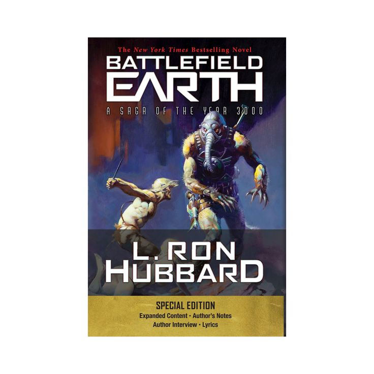 Battlefield Earth : A Saga of the Year 3000 (Special) (Paperback) (L. Ron Hubbard)