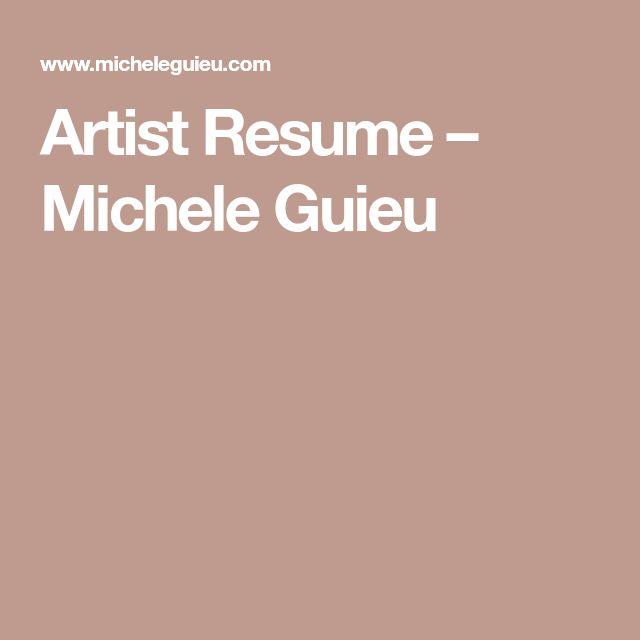 The 25+ best Artist resume ideas on Pinterest Artist cv, Graphic - artist resume template