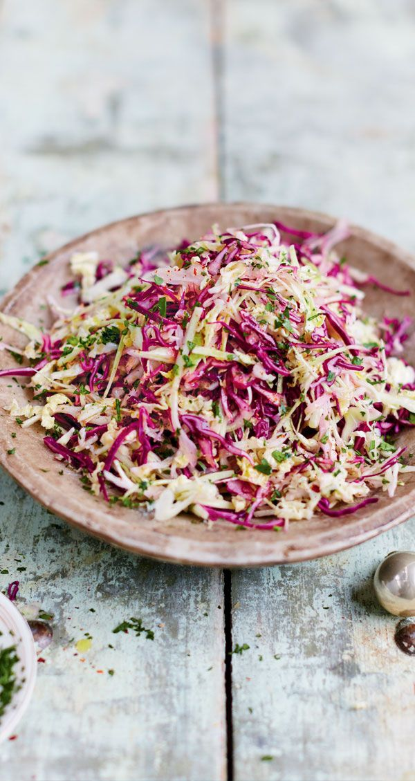 Jamie's Three-Cabbage Slaw Recipe | Woolworths