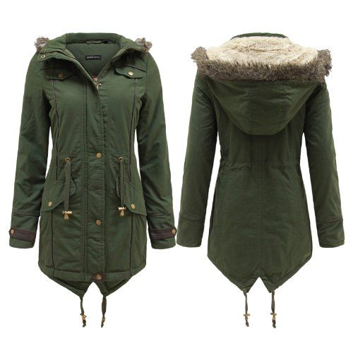 Ladies Parka Coats Uk | Down Coat