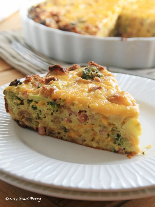 Ham and Cheese Stuff'n Puff | Random Sweetness Baking