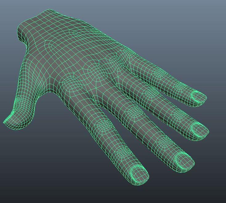 hand maya model - Google 搜尋