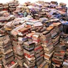Image result for a pile of video games