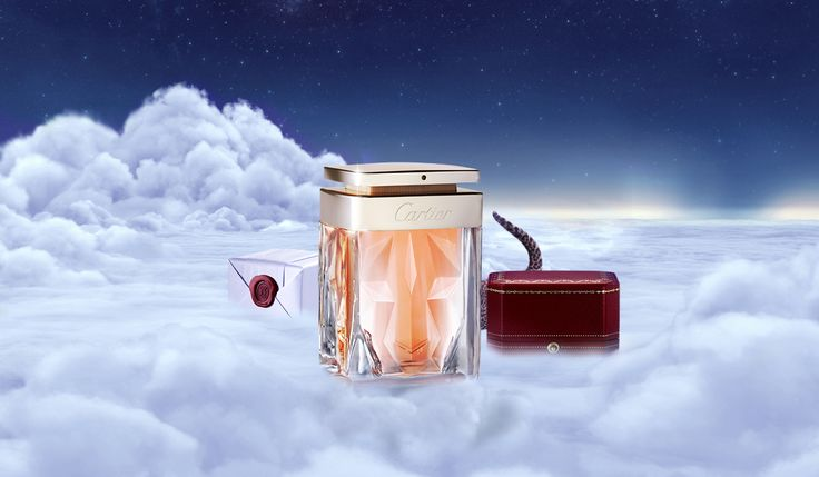A floral, daring scent she will love. #LaPanthere #Cartier #WinterTale