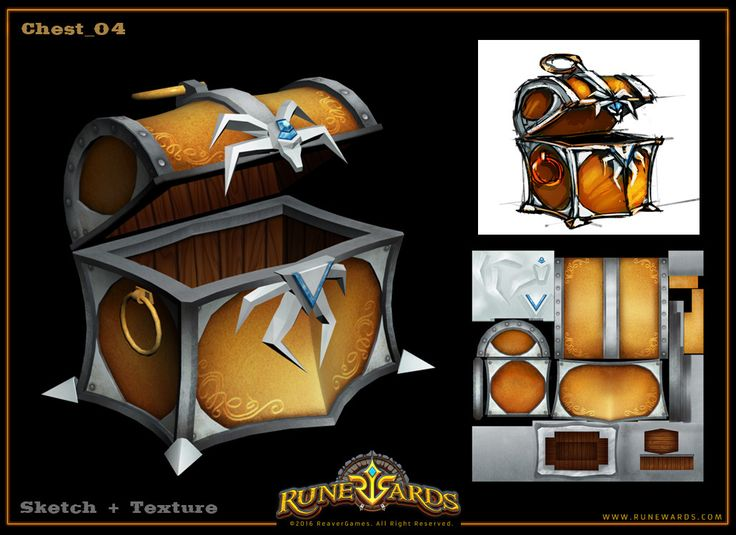 ArtStation - Chests, Svesla Tasla
