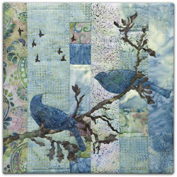 PineNeedles.com : Harmony - Batiks quilt by McKenna Ryan
