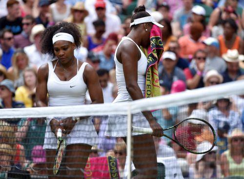 Serena venció a su hermana Venus.   Wimbledon 2015.