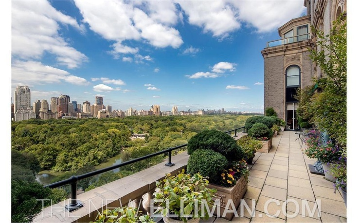 The most awesome view of central park new york city for Central park penthouses for sale