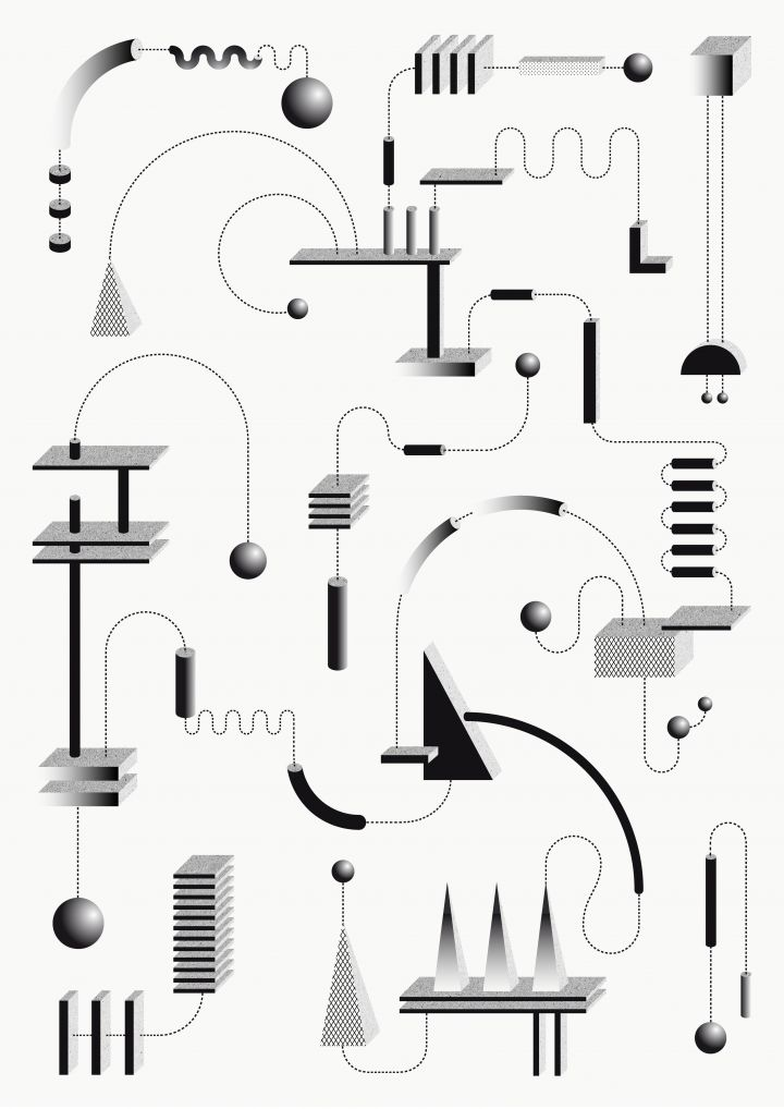 Les mécaniques graphiques de Sophie Douala - Beware!