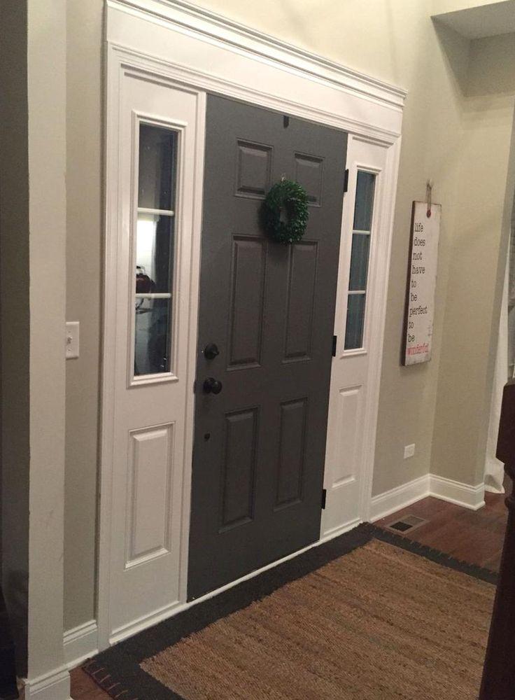 Easy door casing and painted door color benjamin moore