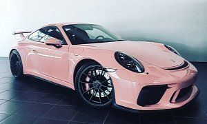 Pink Pig 2018 Porsche 911 GT3 Is a Tribute to Legendary 917/20 Racecar : If you