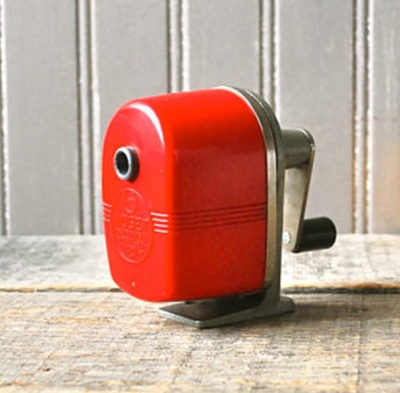 Old-school pencil sharpener :)