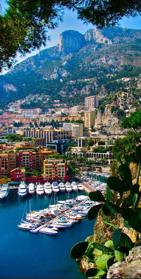 Monaco - is a sovereign city-state located on the French Riviera