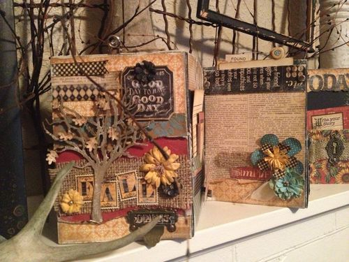 Fall-Daily-Accordion-Keepsake-Typography-Graphic45-Denise-Johnson-Petaloo, Xyron, Blog Hop, home decor: