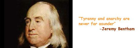 philosophy quote by jeremy bentham