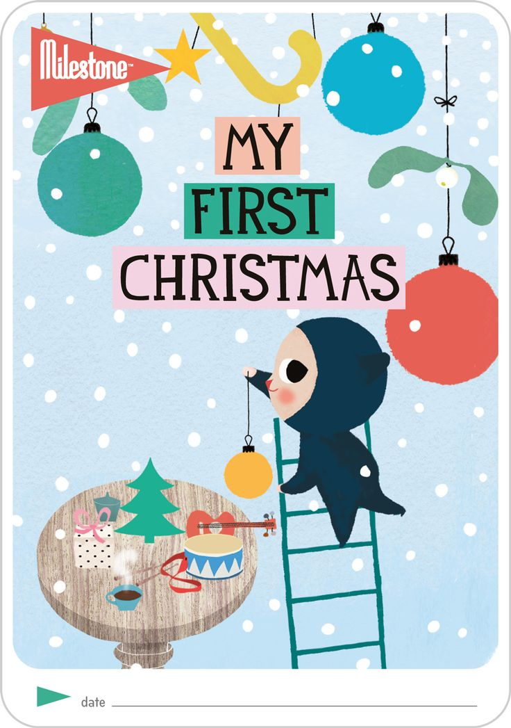 Milestone™   My First Christmas Free Printable now available! https://shop.milestone-world.com/christmas-cards #milestonebaby #christmas #freegift #milestonebaby