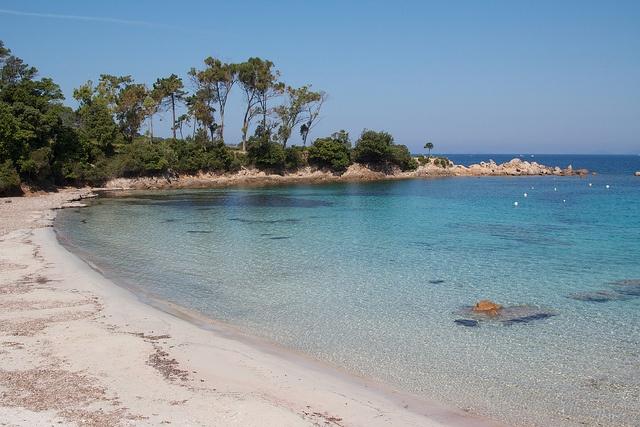 Verghia Plage, Ajaccio, Corse