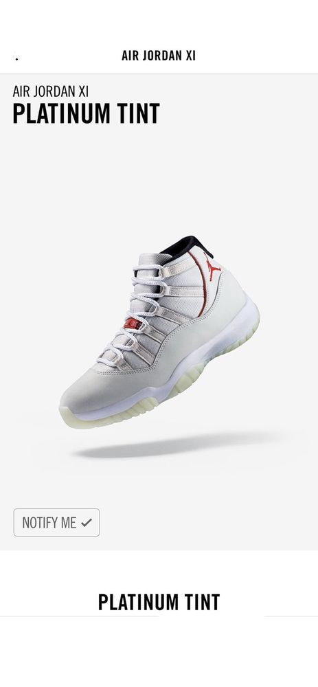29d98c47c768 Upcoming Air Jordan 11 Platinum Tint Available October 27  fashion   clothing  shoes  accessories  mensshoes  athleticshoes (ebay link)
