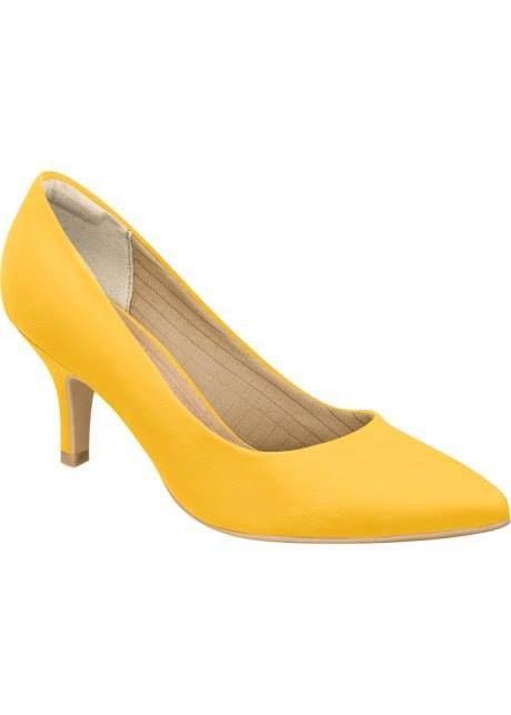 Você pode copiar já!   Scarpin clássico Piccadilly amarelo de 17900 por... <3 GANHE MAIS DESCONTO! CLIQUE AQUI!  http://imaginariodamulher.com.br/look/?go=2kEUzJQ