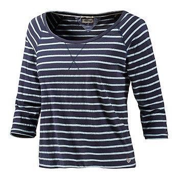 Tommy Hilfiger Langarmshirt Damen navy/weiß im Online Shop von SportScheck kaufen
