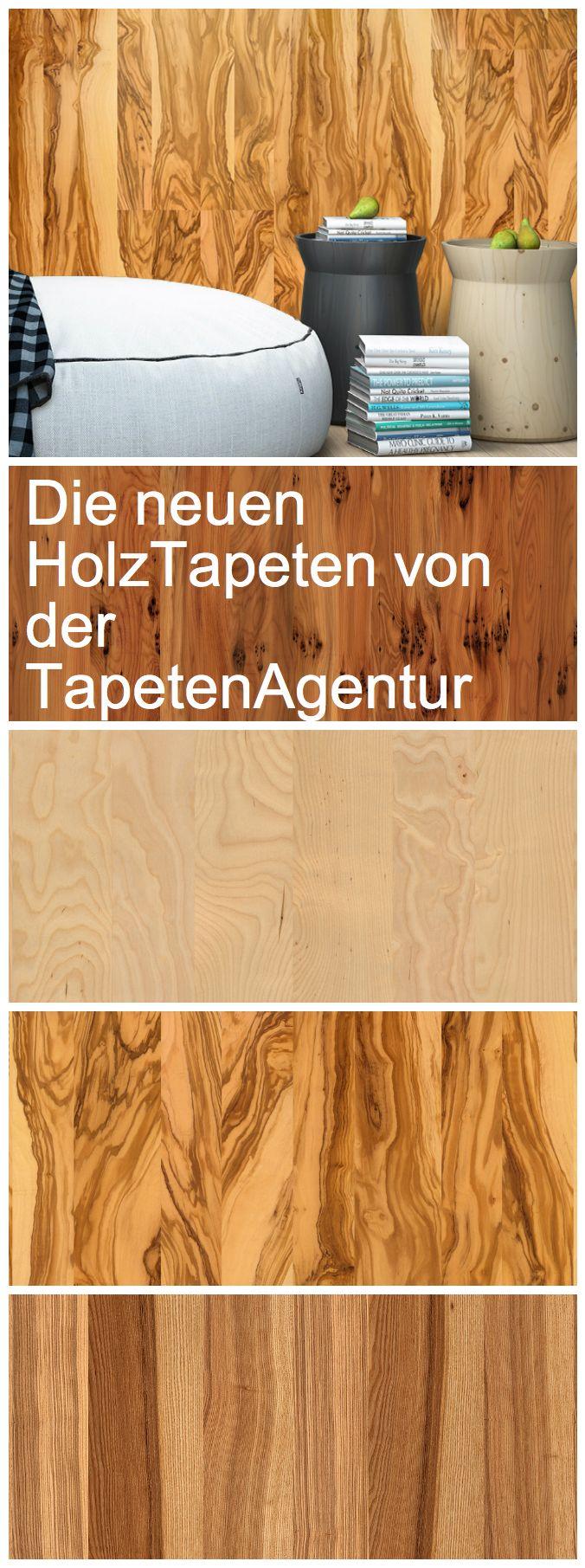 Holztapeten von TapetenAgentur: www.tapetenagentur.de/blog/die-neuen-holztapeten/