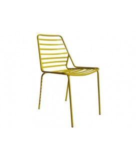 Καρέκλα εξωτερικού χώρου σε διάφορα χρώματα