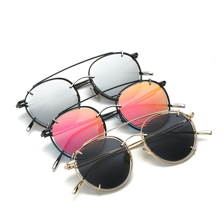 OOBON 2017 New Sunglasses women steampunk punk glasses Colorful fashion brand sun glasses Punk de sol gafas de sol mujer DF880