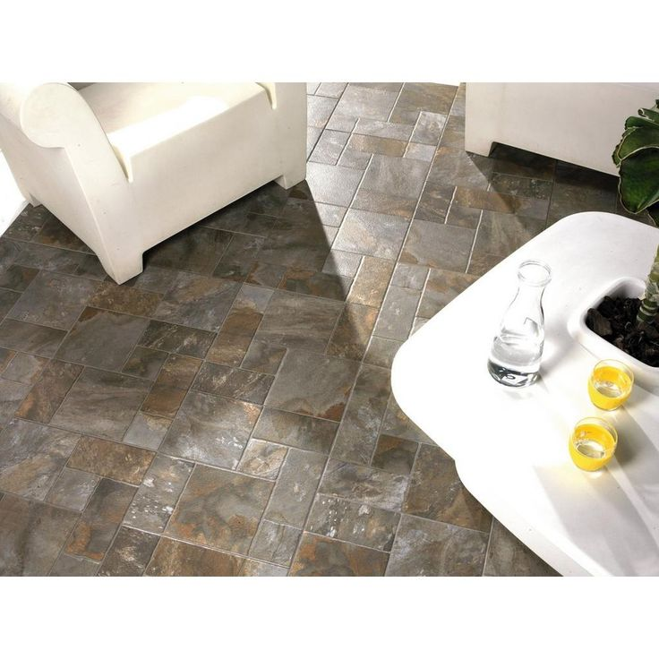 Marvelous Mix Aran Stone Anti Slip Porcelain Tile   17in. X 17in.   911103865