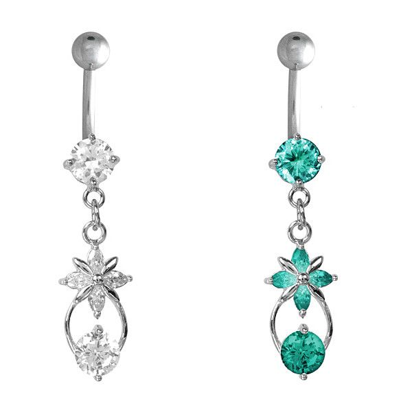 Belly Rings, Inexpensive Belly Rings and unique belly button rings at... ❤ liked on Polyvore featuring jewelry, piercings, belly rings, belly ring jewelry and belly button rings jewelry