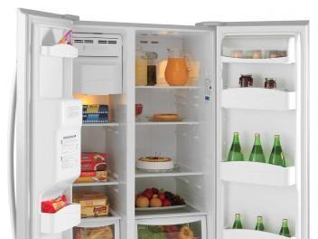 Geladeira/Refrigerador Electrolux Frost Free - Side by Side 504L Dispenser de Água SS72X Titanium