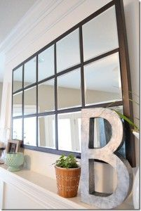 DIY Furniture Store KnockOffs - Do It Yourself Furniture Projects Inspired by Pottery Barn, Restoration Hardware, West Elm. Tutorials and Step by Step Instructions | Pottery Barn Knock-Off Mirror | http://diyjoy.com/diy-furniture-store-knockoffs