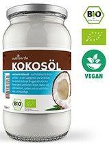Bio Kokos Öl - 1 x 1000mL (1L) - in wiederverschließbarem Glas