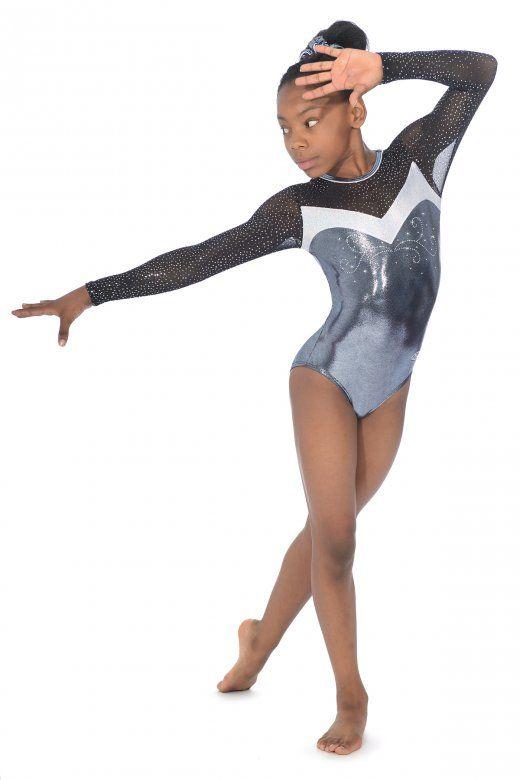 The Zone Gymnastics Long Sleeve Leotard Z394ULT                              …