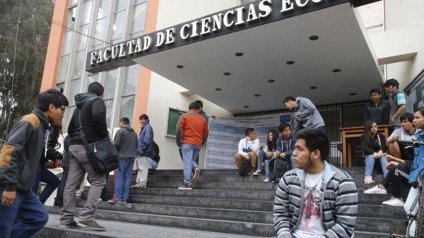 San Marcos: todos los alumnos llevarán Estudios Generales
