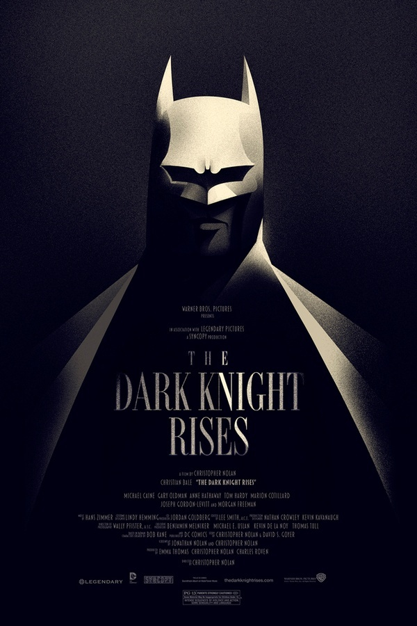 The Dark Knight Returns - poster by Olly Moss