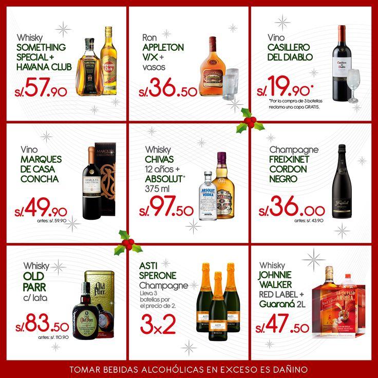 Panel del Mes de Diciembre ,  ofertas distintas.