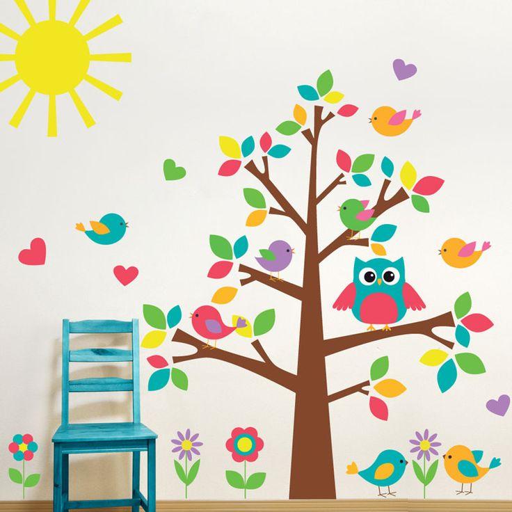 Foto principal de Adesivo de Parede Árvore Infantil