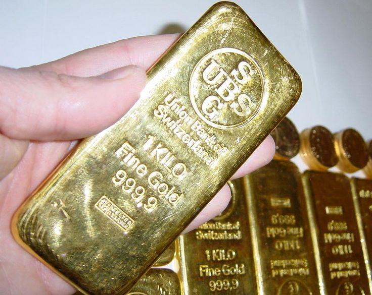 1 Kilo Gold Bar U S Gold Bureau
