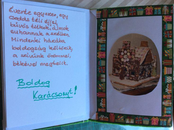 Christmas journal #2 - inside