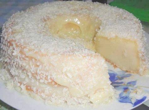 """Receta FÁCIL de pastel de coco """"Atrapa Marido"""" – Ento2"""